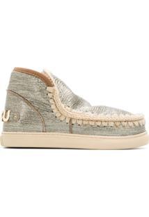 Mou Ankle Boot Eskimo Metálica - Dourado
