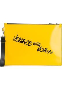 Versace Clutch Versace With Love - Amarelo