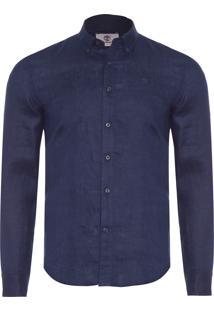 Camisa Masculina Rattle - Azul