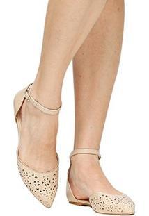 Sapatilha Shoestock Fino Laser - Feminino