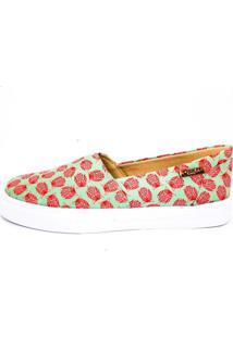 Tênis Slip On Quality Shoes Feminino 002 Coruja 33