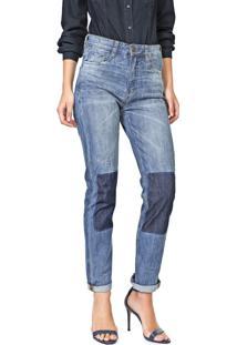 Calça Jeans Carmim Slim Brighton Basic Azul