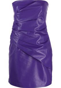 Manokhi Sahara Mini Dress - Roxo
