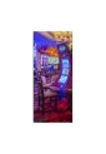 Adesivo Decorativo De Porta - Cassino - Las Vegas - 127Cnpt Auto Colante
