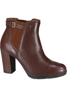 Bota Cravo E Canela Ankle Boot Feminina