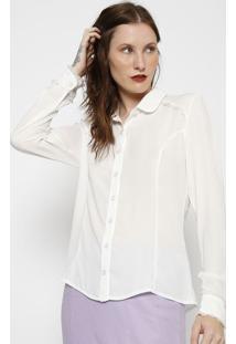 Camisa Com Franzidos - Brancalinho Fino