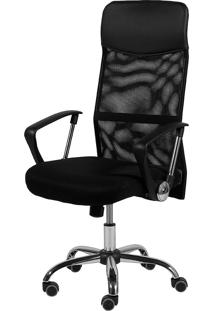 Cadeira Office Smart Alta Or-3307 – Or Design - Preto