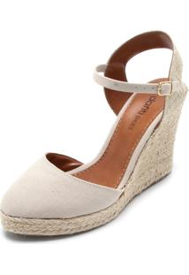 Sandália Dafiti Shoes Espadrille Bege