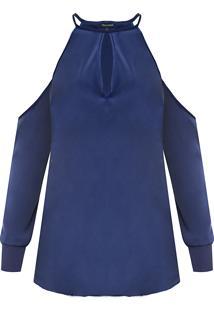 Blusa Feminina Norah - Azul