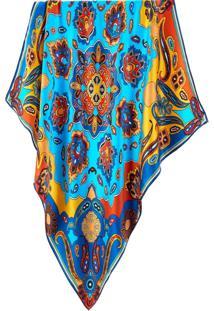 Lenço Mandala Gipsy Scarf Me Azul