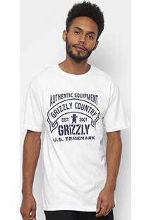 Camiseta Grizzly Country Masculina - Masculino