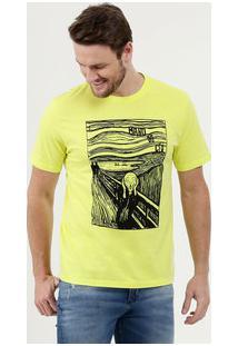 Camiseta Masculina Neon Manga Curta Mr