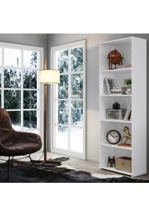 Estante Para Livros Mo8600 Art In Móveis Branco