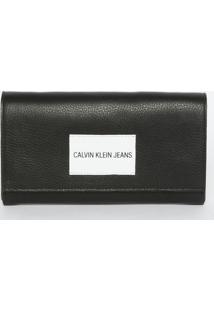 76eb152df R$ 249,99. Privalia Carteira Tipo Couro De Grife Transversal Alças 1 Porta  Alça Removível Calvin Klein Publish Preta Cinza Branca ...