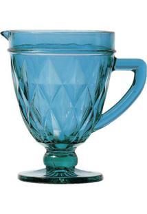 Jarra Lyor De Vidro Diamond 1L Azul - Azul - Dafiti