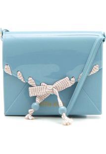 Bolsa Petite Jolie Laço Azul