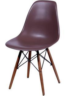 Cadeira Eames Polipropileno Cafe Base Escura - 44844 - Sun House