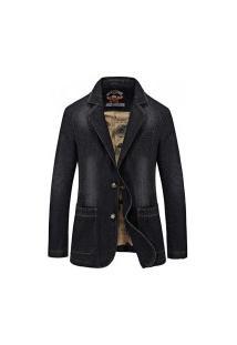 Blazer Jeans Masculino Dakota - Preto