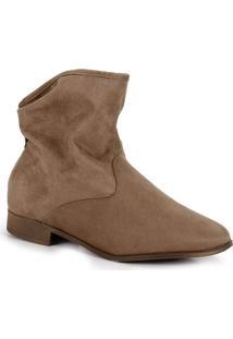 Ankle Boots Moleca Camurça
