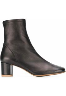 By Far Ankle Boot Clássica - Preto