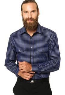 Camisa Perry Ellis Clássic Xadrez