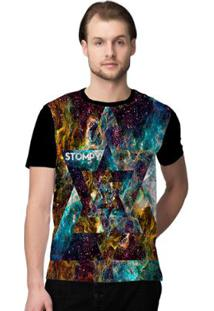 Camiseta Stompy Psicodelica32 Masculina - Masculino