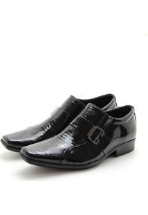 Sapato Perlatto 3573 Preto Verniz