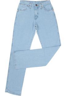 Calça Jeans Wrangler Pespontos Azul