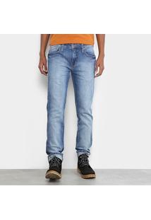 Calça Jeans Slim Colcci Alex Estonada Masculina - Masculino