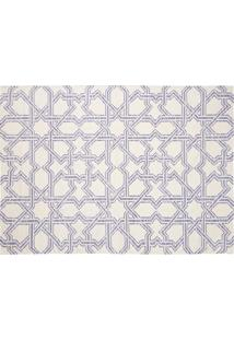 Tapete Dhurie Moroccan 3 White/Purple