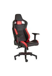 Cadeira Gamer Corsair T1 Race Preta/Vermelha - Cf-9010013