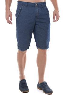 Bermuda Jeans Z-32 Middle Masculina - Masculino-Azul