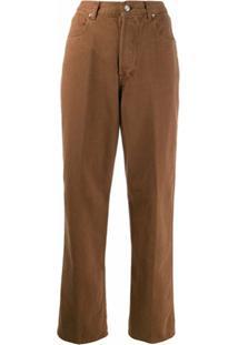 Golden Goose Calça Jeans Boyfriend - Marrom
