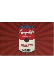 Jogo Americano Nerderia Campbells Vermelho - Kanui