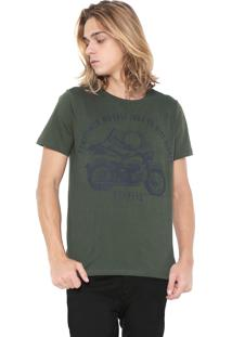 Camiseta Red Nose Estampada Verde