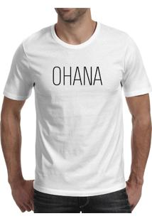 Camiseta Hunter Ohana Branca