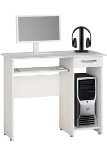 Mesa Para Computador Siena New 1 Gv Branco New