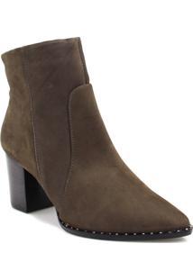Bota Ankle Boot Zariff Shoes Bico Fino