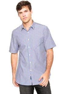 Camisa Perry Ellis Mini Branca