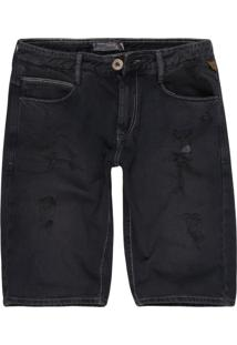 Bermuda Jeans Khelf Tradicional Jeans
