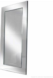 Espelho Decorativo Com Moldura Espelhada Espelhado - Designer Vidros
