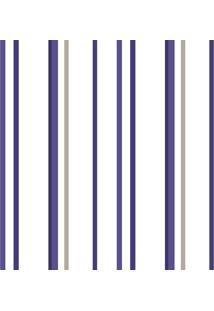 Papel De Parede Lymdecor Listra Soft Azul