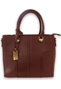 Bolsa Casual Importada Sys Fashion 8533 Café