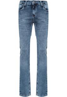 Calça Masculina Skinny Albany - Azul