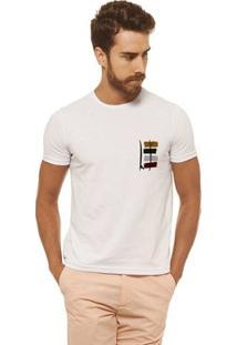Camiseta Joss - Prancha Guache - Masculina - Masculino-Branco