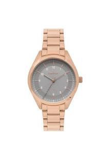 Relógio Condor Feminino Rose Analógico Co2035Kwpk4C