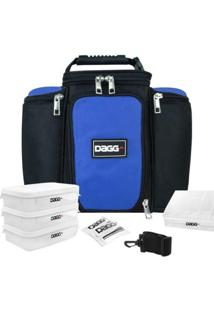Bolsa Térmica Fitness Dagg 6L - Unissex-Azul+Preto