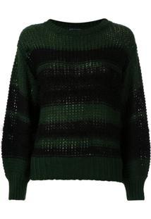 Armani Exchange Pullover De Acrílico Macio - Verde