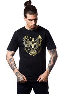 Camiseta Fallen Arms Preto