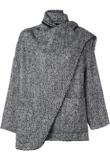 Isabel Marant Étoile Belted Shawl Jacket - Preto
